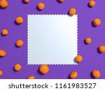 halloween holiday background... | Shutterstock . vector #1161983527
