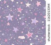 space galaxy constellation... | Shutterstock .eps vector #1162013344