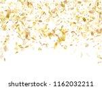 gold glitter realistic confetti ... | Shutterstock .eps vector #1162032211