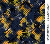 seamless pattern wild design.... | Shutterstock . vector #1162042024