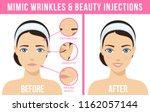 women's anti aging skin care.... | Shutterstock .eps vector #1162057144