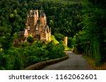 eltz castle in germany famous... | Shutterstock . vector #1162062601