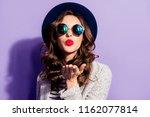 portrait of seductive tempting... | Shutterstock . vector #1162077814