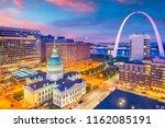 st. louis  missouri  usa... | Shutterstock . vector #1162085191