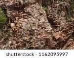 rock wall texture | Shutterstock . vector #1162095997