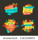 special offer and mega discount ... | Shutterstock .eps vector #1162100851