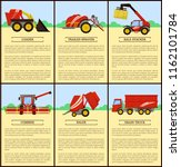 loader and combine posters set... | Shutterstock .eps vector #1162101784