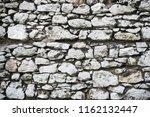 old stony wall in krakow... | Shutterstock . vector #1162132447