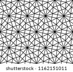 geometric grid pattern. vector... | Shutterstock .eps vector #1162151011