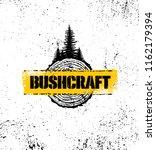 bushcraft outdoor survival... | Shutterstock .eps vector #1162179394