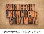Alphabet Abstract In Vintage...