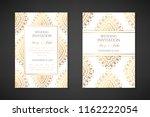 wedding invitation templates.... | Shutterstock .eps vector #1162222054