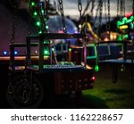 fairground swing ride   Shutterstock . vector #1162228657