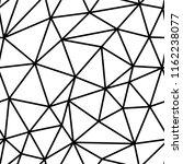 polygonal seamless pattern. low ... | Shutterstock .eps vector #1162238077