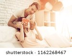 beautiful couple together on...   Shutterstock . vector #1162268467