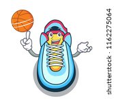 with basketball classic sneaker ... | Shutterstock .eps vector #1162275064