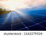 solar cell  solar electric... | Shutterstock . vector #1162279324