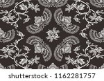 batik indonesian  traditional... | Shutterstock .eps vector #1162281757