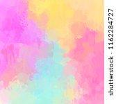adorable soft colored digital... | Shutterstock . vector #1162284727