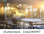 blur cafe restaurant on outdoor ... | Shutterstock . vector #1162296997