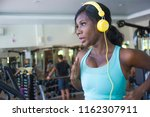indoors gym portrait of young... | Shutterstock . vector #1162307911