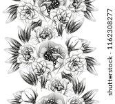 flower print in bright colors.... | Shutterstock .eps vector #1162308277
