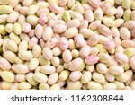 bunch of peeled white beans....   Shutterstock . vector #1162308844