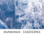 the texture of the ice. the... | Shutterstock . vector #1162313461