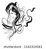 vector  stylish  original hand... | Shutterstock .eps vector #1162314361