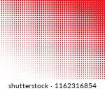 red halftone dots. colorful... | Shutterstock .eps vector #1162316854