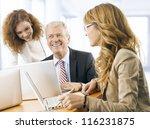 mature  senior  business man... | Shutterstock . vector #116231875