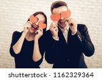 beautiful couple together on...   Shutterstock . vector #1162329364