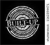 built up chalkboard emblem | Shutterstock .eps vector #1162354471