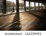 bus station at the vaclav havel ... | Shutterstock . vector #116235451