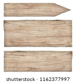 empty old weathered light wood... | Shutterstock . vector #1162377997