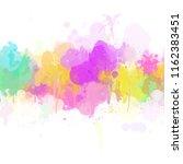 multicolored splash   colorful... | Shutterstock . vector #1162383451