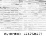 white brick wall for background ...   Shutterstock . vector #1162426174