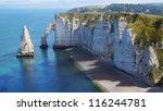 Chalk Cliffs At Cote D'albatre...