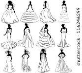 illustration kit silhouette of...   Shutterstock .eps vector #116246299