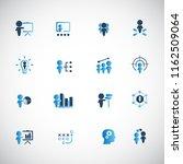 training. business training... | Shutterstock .eps vector #1162509064