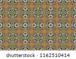 rich ornament. sloping seamless ... | Shutterstock . vector #1162510414