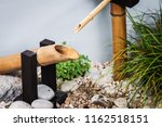 decorations with running water... | Shutterstock . vector #1162518151