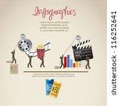 infographics illustration of... | Shutterstock .eps vector #116252641