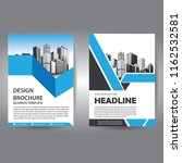 brochure design  cover modern... | Shutterstock .eps vector #1162532581