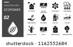 solid style icon pack for... | Shutterstock .eps vector #1162552684
