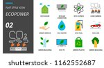 flat style icon pack for... | Shutterstock .eps vector #1162552687