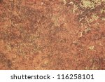 textured brown material as a... | Shutterstock . vector #116258101