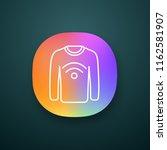nfc clothes app icon. near...