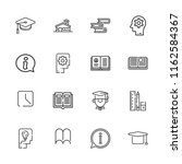 collection of 16 knowledge...   Shutterstock .eps vector #1162584367