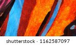 close up oil paint abstract... | Shutterstock . vector #1162587097